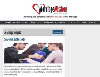 marriagemissions.com screenshot