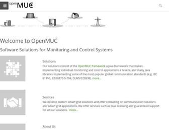 openmuc.org screenshot