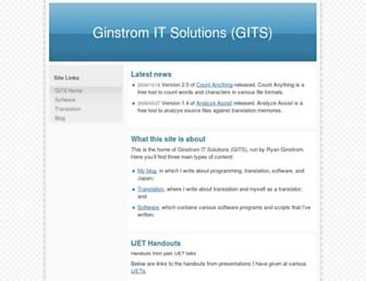 ginstrom.com screenshot