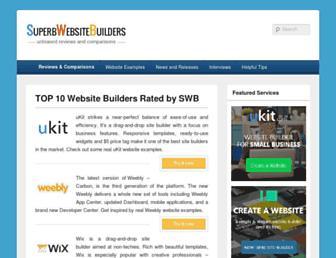 superbwebsitebuilders.com screenshot