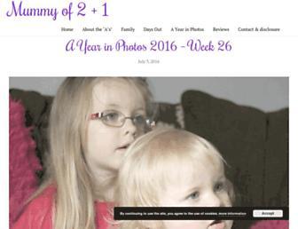Thumbshot of Mummyoftwo.com
