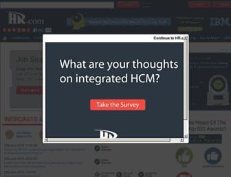 hr.com screenshot