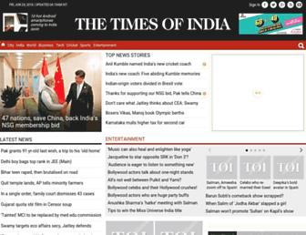 timesofindia.indiatimes.com screenshot