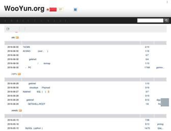 Thumbshot of Wooyun.org