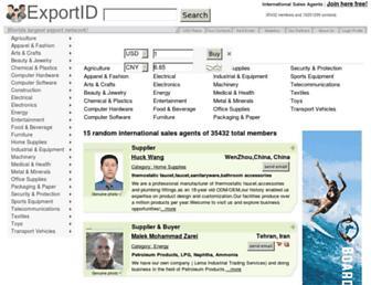 exportid.com screenshot