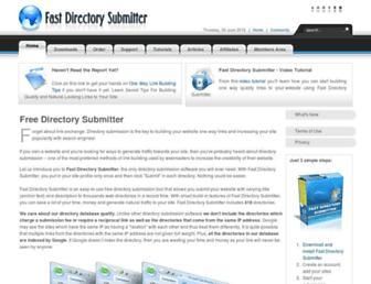 Thumbshot of Fastdirectorysubmitter.com