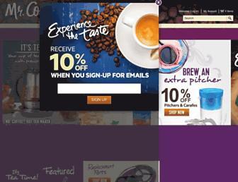 Thumbshot of Mrcoffee.com