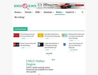 droidviews.com screenshot