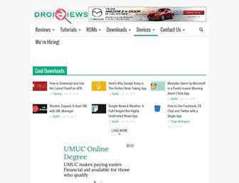 Thumbshot of Droidviews.com