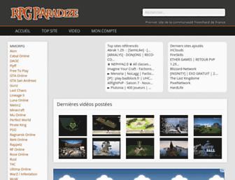 Thumbshot of Rpg-paradize.com