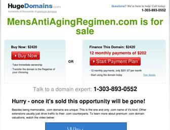 mensantiagingregimen.com