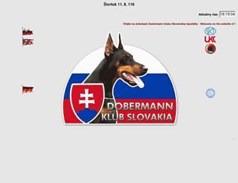 Thumbshot of Dobermann.sk