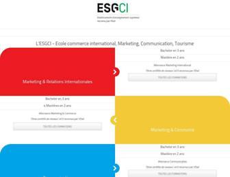 esgci.com screenshot