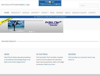 pronktech.com screenshot