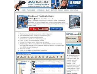 assetmanagesoftware.com screenshot