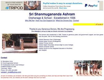 shanmugananda.tripod.com screenshot