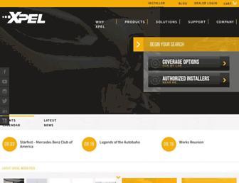 xpel.com screenshot