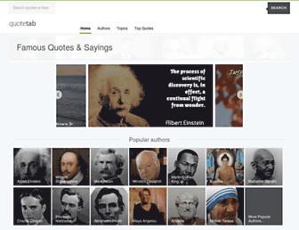 quotetab.com screenshot