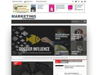 marketing-professionnel.fr screenshot