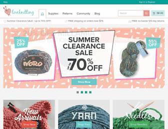 Thumbshot of Loveknitting.com