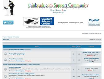 forum.thinkpads.com screenshot