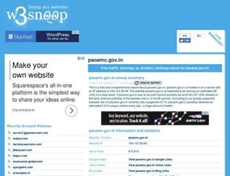 paoamc.gov.in.w3snoop.com screenshot