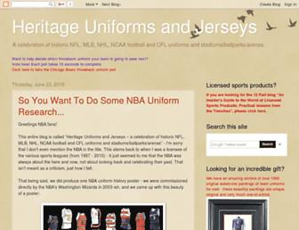 blog.heritagesportsart.com screenshot