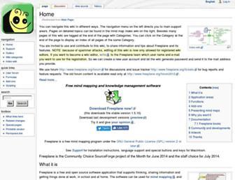 freeplane.org screenshot
