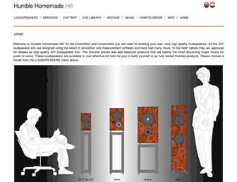 humblehomemadehifi.com screenshot
