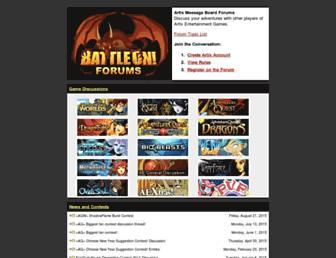 forums2.battleon.com screenshot