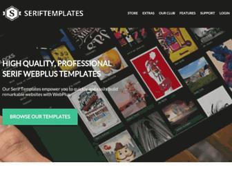 seriftemplates.com screenshot