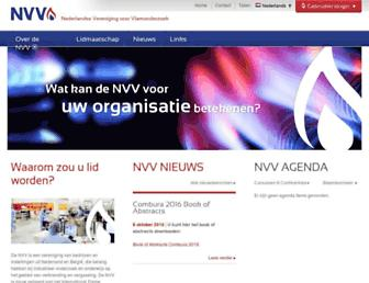 vlamvereniging.nl screenshot