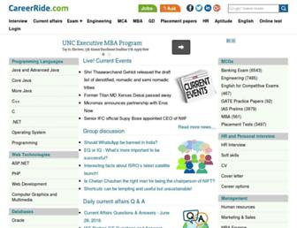careerride.com screenshot
