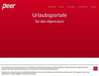 peer.biz screenshot