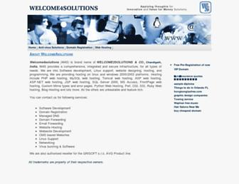 Thumbshot of Welcome4solutions.com