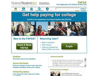 Thumbshot of Fafsa.gov