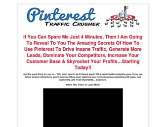 Thumbshot of Pinteresttrafficcrusher.com