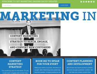 marketinginsidergroup.com screenshot