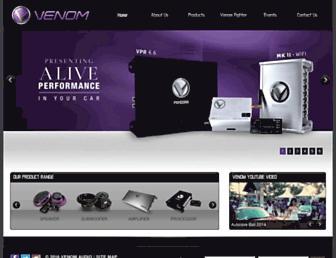 venom-audio.com screenshot