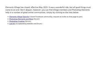 Thumbshot of Elementsvillage.com