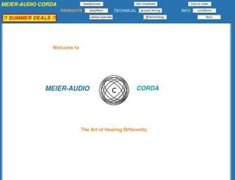 meier-audio.homepage.t-online.de screenshot