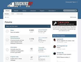 forum.truckersmp.com screenshot