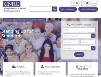cnhc.org.uk screenshot