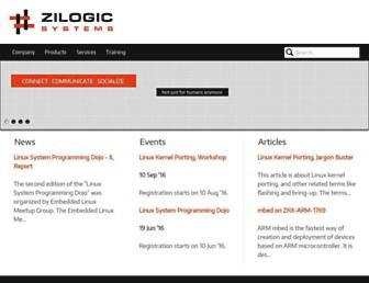 zilogic.com screenshot