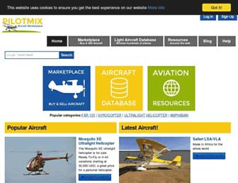 pilotmix.com screenshot