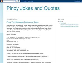 pinoy-jokes-and-quotes.blogspot.com screenshot