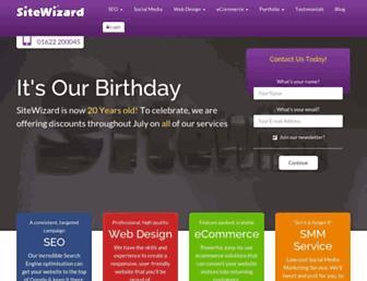 Thumbshot of Sitewizard.co.uk