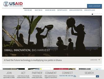 usaid.gov screenshot