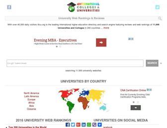 Main page screenshot of 4icu.org