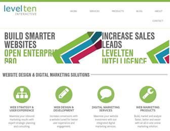 Thumbshot of Getlevelten.com